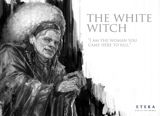 ETEKA-the white witch
