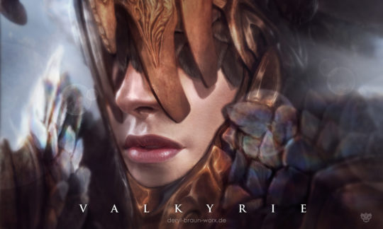 valkyrie close up