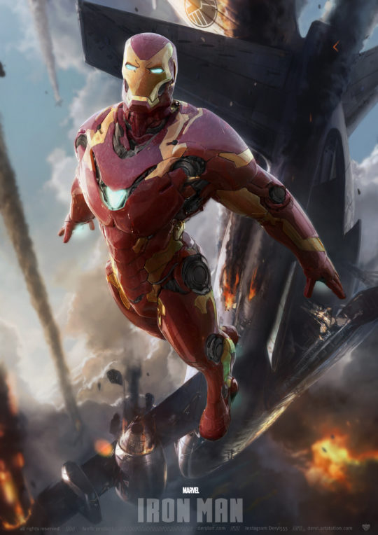 Iron Man – the Jump out